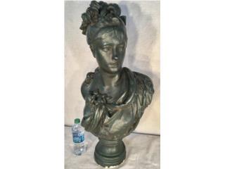 Busto Grande de una Dama. Principio de 1900's, Mr. Bond Vintage Puerto Rico