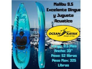Malibu 9.5 Equipado Para Bote , AquaSportsKayaks Distributors PR 1991 7877826735 Puerto Rico