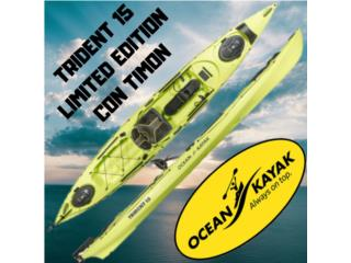 Trident 15 Pesca con Timon Limited Edition, AquaSportsKayaks Distributors PR 1991 7877826735 Puerto Rico