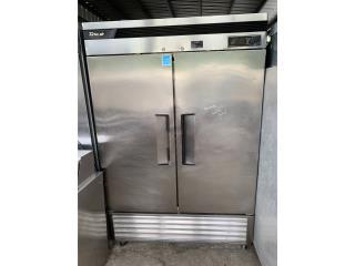 Nevera dos puertas stainless steel, KC WAREHOUSE Puerto Rico
