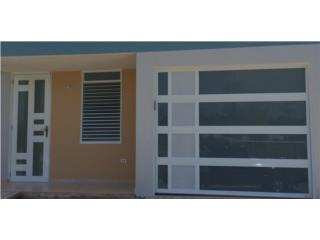 PUERTAS MODERNAS COMBINADAS A TU HOGAR, PUERTO RICO GARAGE DOORS INC. Puerto Rico