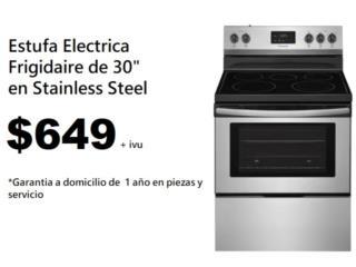 Estufa Stainless Electrica de 30