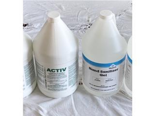 Hand Sanitizer y Activ, BJ Distributor Supply Puerto Rico