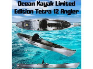 O.K Tetra 12 Angler con Asiento,2 Porta Cañas, AquaSportsKayaks Distributors PR 1991 7877826735 Puerto Rico
