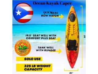 O.K CAPER DE PESCA y AVENTURAS KAYAKERAS, AquaSportsKayaks Distributors PR 1991 7877826735 Puerto Rico