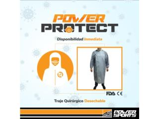 POWER PROTECT! TRAJE QUIRÚRGICO DESECHABLE, POWER PROTECT Puerto Rico