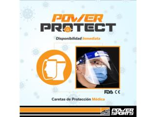 FACE SHIELDS PARA COVID-19 $3.99, POWER PROTECT Puerto Rico