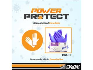 GUANTES DE NITRILO DESECHABLES DESDE $15, POWER PROTECT Puerto Rico