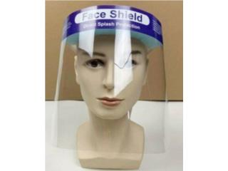 SAFETY FACE SHIELD W/CLEAR FULL FACE, WSB Supplies U Puerto Rico