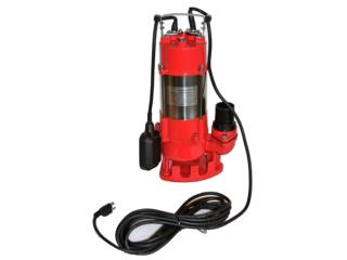 Bomba de para debajo del Agua Comercial , Sigma Distributors PR Puerto Rico