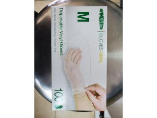 GUANTES DE VINYL MEDIUM (100), WSB Supplies U Puerto Rico