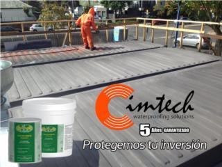 Adiós a grietas y filtraciones en la terraza!, CIM CARIBBEAN Puerto Rico