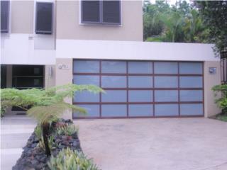 MODELOS NUEVOS DE LUJO A TU HOGAR, PUERTO RICO GARAGE DOORS INC. Puerto Rico