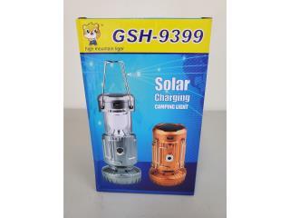 SOLAR CHARGING CAMPING LIGHT, WSB Supplies U Puerto Rico