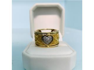Anillo Dama en Oro 18kt y Diamantes, Cashex Puerto Rico