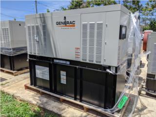 Caguas Puerto Rico Verjas PVC, Generador Generac Diesel 20KW TANQUE 100HRS