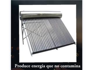 Calentador solar de dos placas., UNIVERSAL SOLAR  Puerto Rico