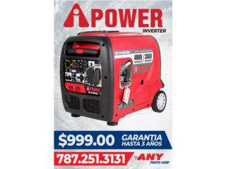 Planta Electrica Power inverter, ANY PARTS / Plantas Electricas Puerto Rico