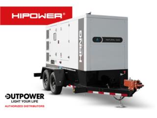 HIPOWER 200KW - RENTAL, OUT POWER ENERGY  Puerto Rico