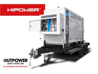 HIPOWER 95KW - RENTAL, OUT POWER ENERGY  Puerto Rico