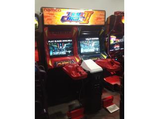 Time Crisis ll, Máquinas Arcade Puerto Rico Puerto Rico