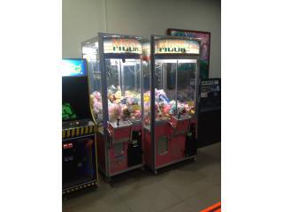 Crane Machine, Máquinas Arcade Puerto Rico Puerto Rico