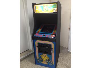 Arcade Game Ms Pacman, Máquinas Arcade Puerto Rico Puerto Rico