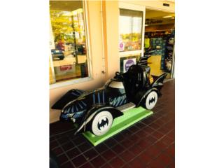 VENDING MACHINE BATMOBILE POR MONEDAS  , ARTEC Puerto Rico
