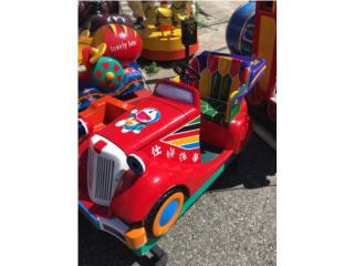Auto Clásico Por Monedas Para Niños, ARTEC Puerto Rico