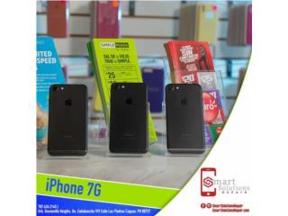 iPhone 7 regular desbloqueado con garantia, Smart Solutions Repair Puerto Rico