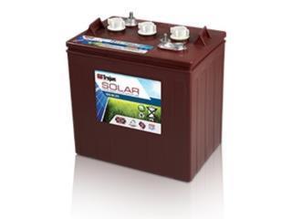 Bateria Trojan 06 255 con y sin carbon, Perez Solar Puerto Rico