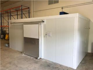 Walk in cooler & freezer, Promas, Inc Puerto Rico