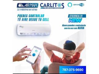 AIRMAX wifi Ready, carlitosairconditioning Puerto Rico
