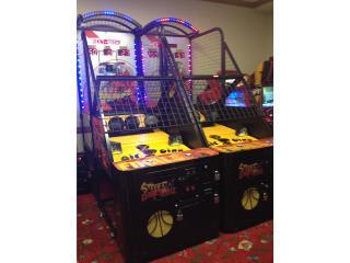 Máquina de Baloncesto, Máquinas Arcade Puerto Rico Puerto Rico