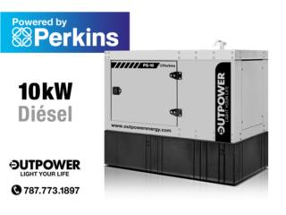 10kW Perkins® Stamford® , OUT POWER ENERGY Puerto Rico