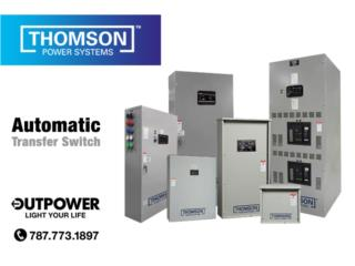 Transfer Switch UL2200 desde 100 a 4000AMP, OUT POWER ENERGY Puerto Rico