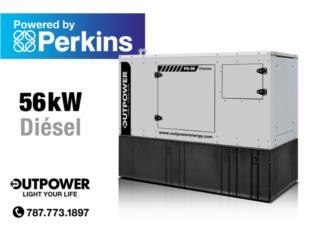 60kW Perkins® Stamford® ¡Entrega Inmediata!, OUT POWER ENERGY Puerto Rico