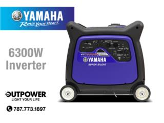 YAMAHA 6300 INVERTER, OUT POWER ENERGY  Puerto Rico