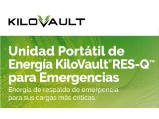 KiloVault RES-Q (Unidad Portátil de Energía), MULTI BATTERIES & FORKLIFT, CORP. Puerto Rico