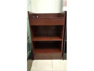 Cash Register Stand, Walnut, 24 X 20 X 38, WSB Supplies U Puerto Rico