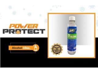 ALCOHOL 10oz $3.50 C/U - COVID 19, POWER PROTECT Puerto Rico