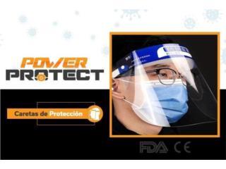 FACE SHIELDS $3.99 C/U - COVID 19, POWER PROTECT Puerto Rico