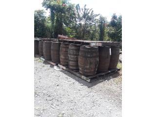 Barriles de madera rusticos importados , ANROD NATIONAL EXPORT INC. Puerto Rico