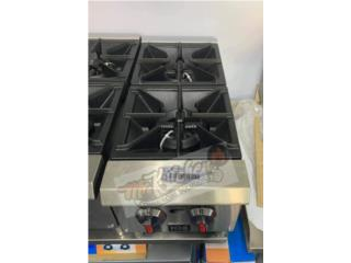 Estufa Counter 2 Hornillas HDS, Mr. Kitchen Commercial Solutions  Puerto Rico