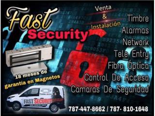 ------Cerradura Magnética 600 lbs---------- , FAST SECURITY  Puerto Rico