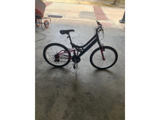 Bicicleta negra y rosada Enzo, Monte Piedad, Inc. Puerto Rico