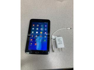 Tableta Samsung con cargador, Monte Piedad, Inc. Puerto Rico