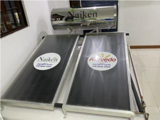 Calentador Solar(Stainless Steel) Naiken , ACEVEDO SOLAR SYSTEM LLC  Puerto Rico