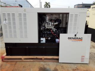 GENERAC DIESEL 30KW-MOTOR PERKINS-3PHASE, G.T. Generac Power Division. Puerto Rico