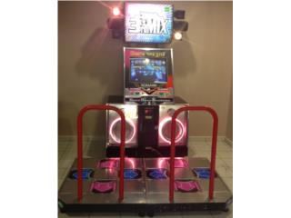 Dance Dance Revolution 3rd Mix Arcade, Máquinas Arcade Puerto Rico Puerto Rico